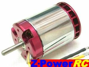 Z50/780  MOTORE BRUSHLESS Z-POWER A CASSA ROTANTE  780KV 352GR.