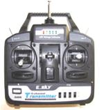 EK2-0406  6 CHANNEL TRANSMITTER 35MHZ
